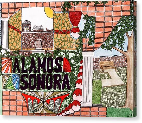 Alamos Canvas Print