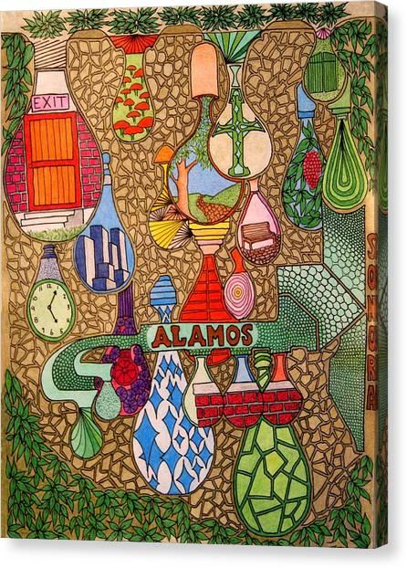 Alamos Lights Canvas Print
