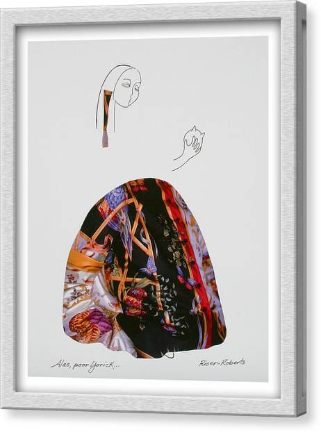 Alas Poor Yorick Canvas Print by Eve Riser Roberts