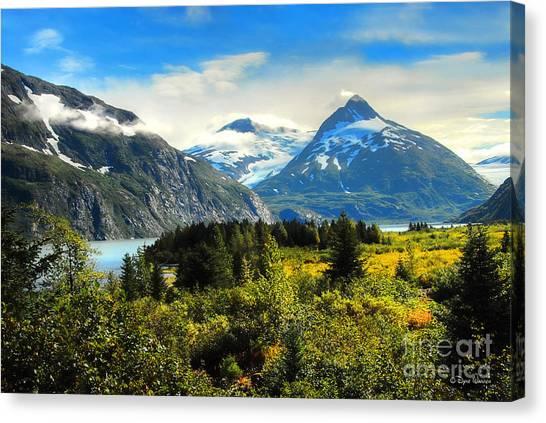 Alaska In All Her Glory Canvas Print