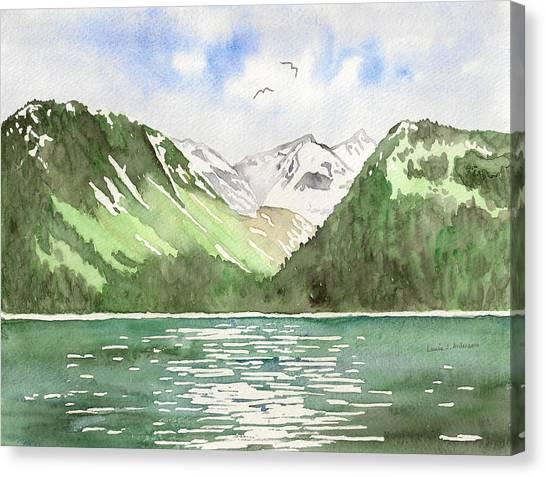 Alaska Kenai Fjords Canvas Print