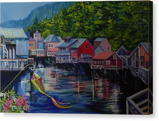 Alaska. Ketchikan Canvas Print