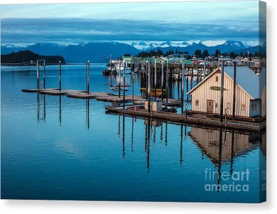 Seaplanes Canvas Print - Alaska Seaplanes by Mike Reid