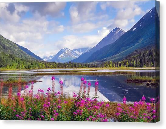 Alaskan Horizons Canvas Print
