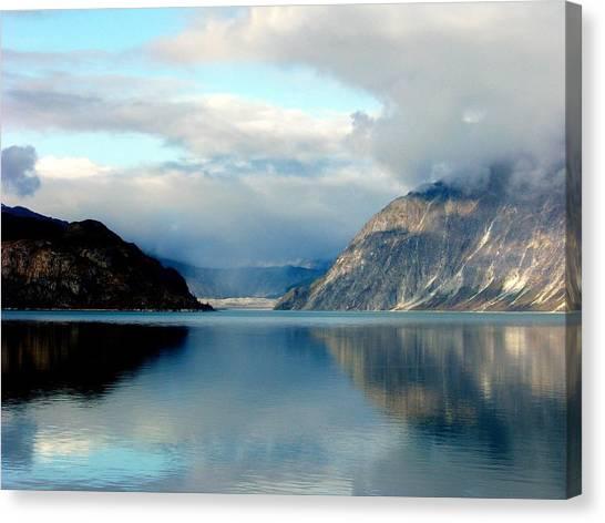Glacier Bay Canvas Print - Alaskan Splendor by Karen Wiles