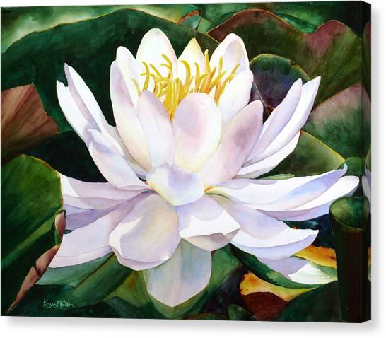 Alba Flora Canvas Print