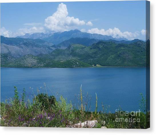 Albania From Lake Skadar Canvas Print