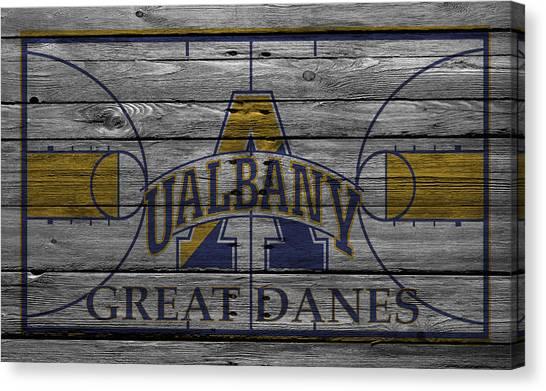 Great Danes Canvas Print - Albany Great Danes by Joe Hamilton