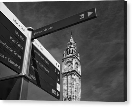 Albert Memorial Clock Canvas Print