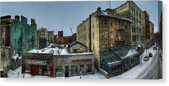 Manitoba Canvas Print - Albert Street by Bryan Scott