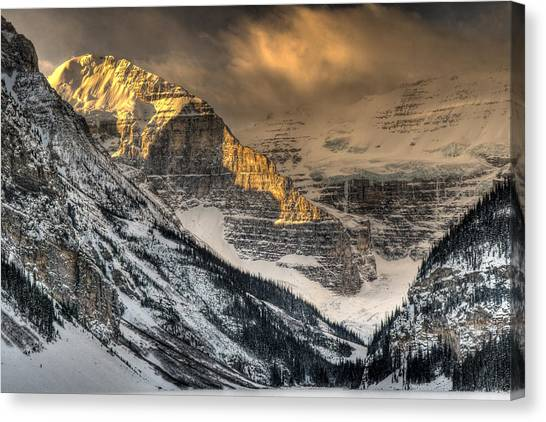 Alberta Sunrise Canvas Print