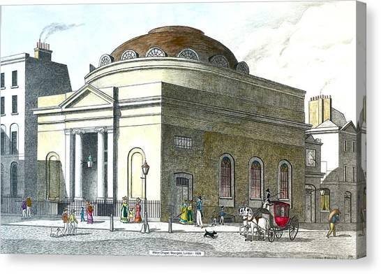 Albion Chapel Moorgate Canvas Print