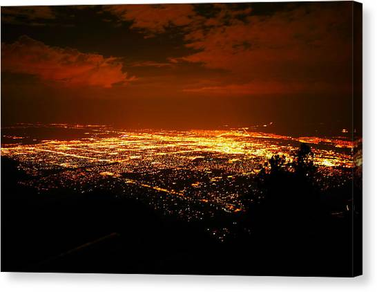 Albuquerque New Mexico  Canvas Print