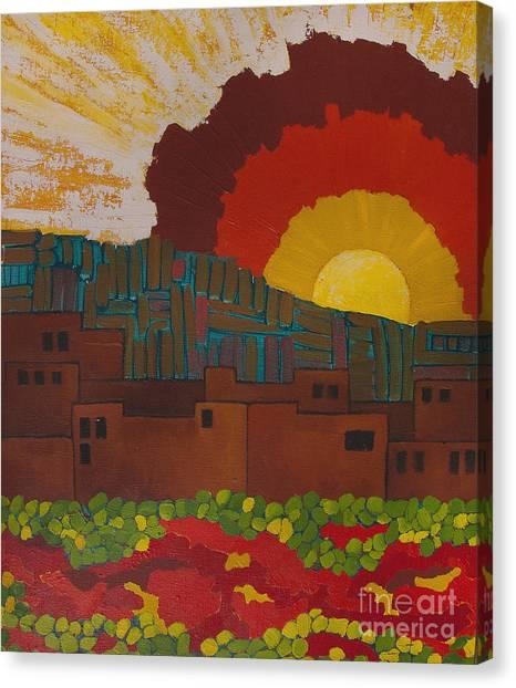 Albuquerque Nm Canvas Print