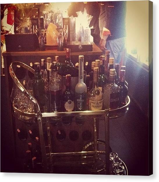 Whiskey Canvas Print - #alcohol #alkol #tequila #jagermeister by Cenk Toroslu