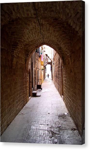 Aleppo Alleyway06 Canvas Print
