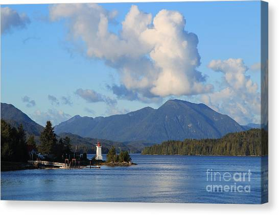 Alert Bay Alaska Canvas Print