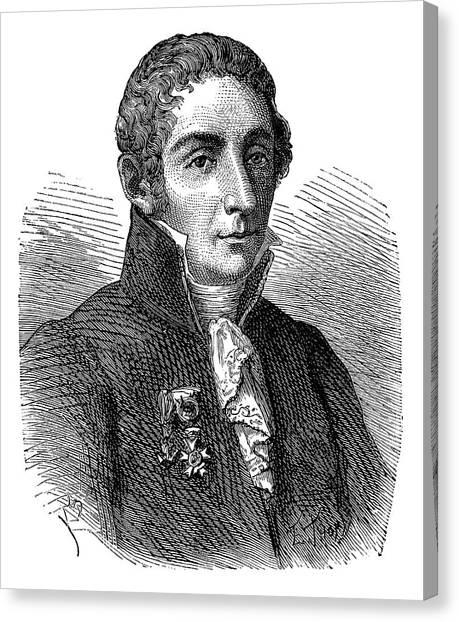 The Legion Canvas Print - Alessandro Volta by Science Photo Library