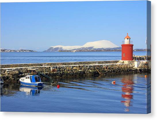 Alesund Lighthouse Canvas Print