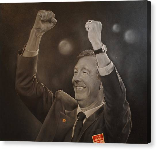 Alex Ferguson Canvas Print