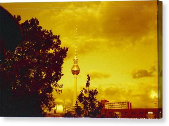 Deutschland Canvas Print - Alexander Tower by Juan  Bosco