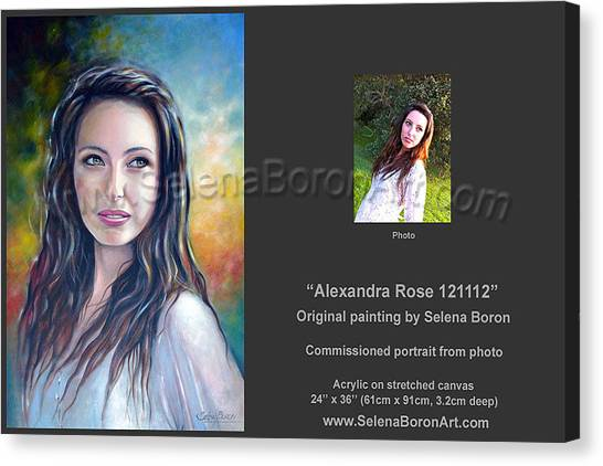 Alexandra Rose 121112 Canvas Print