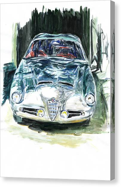 Alfa Romeo Canvas Print by Ildus Galimzyanov