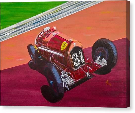 Alfa Romeo Tipo B P3  Canvas Print
