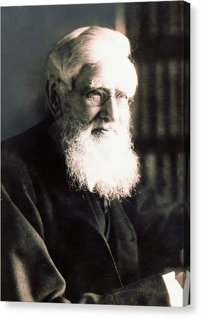 Alfred Russel Wallace Canvas Print by American Philosophical Society