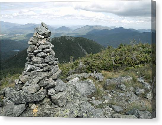 Algonquin Mountain Cairn Canvas Print