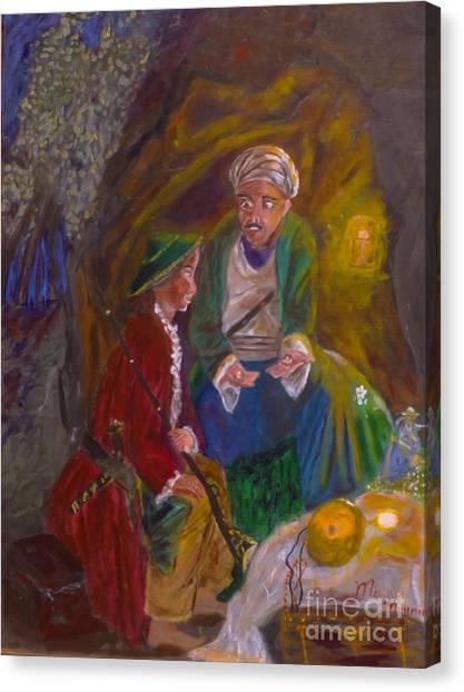 Ali Baba Canvas Print