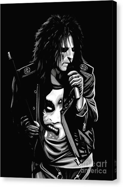 Alice Cooper Canvas Print - Alice Cooper by Meijering Manupix