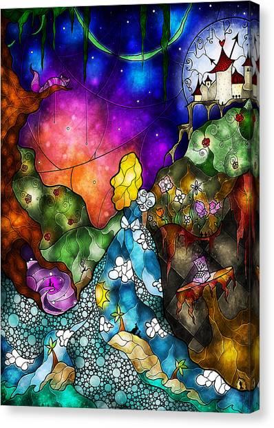 Alice's Wonderland Canvas Print