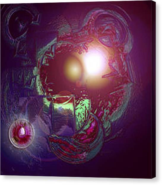 Canvas Print - Alien Fetus by Dan Sheldon