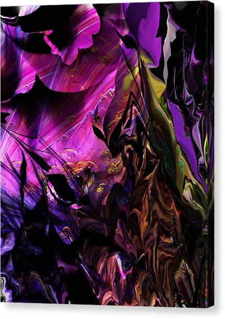 Canvas Print - Alien Floral Fantasy by David Lane
