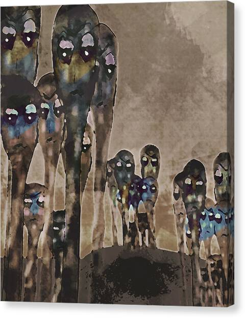 Alien Harvest Canvas Print