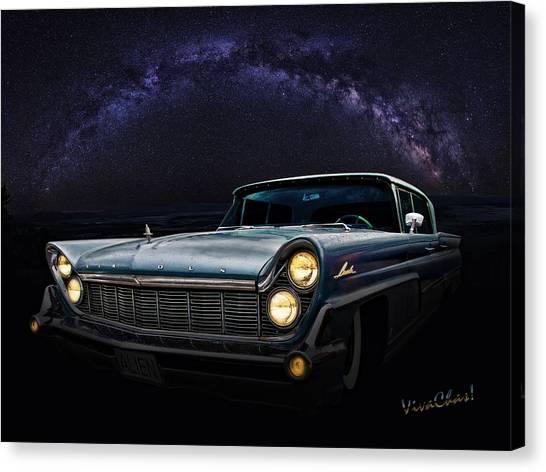 Alien Lincoln Roswell Saturday Night Canvas Print