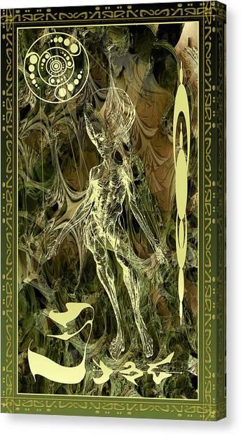 Aliena Anatomia Canvas Print
