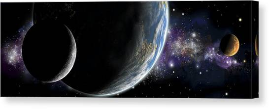 Alignment No.3 Canvas Print