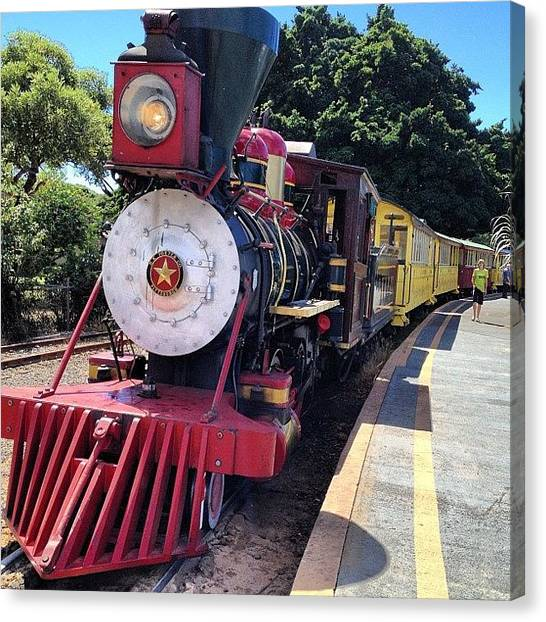Landmark Canvas Print - All Aboard by Darice Machel McGuire