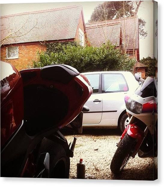 Suzuki Canvas Print - All About That #bikelife @pistonheadz by Jack Sutton