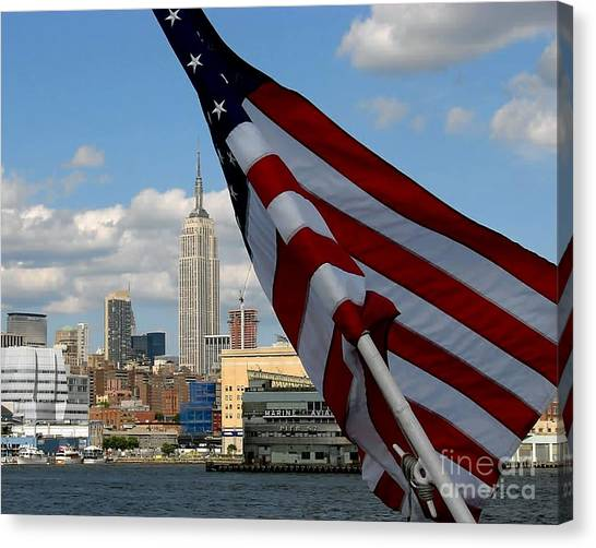 All American City Canvas Print