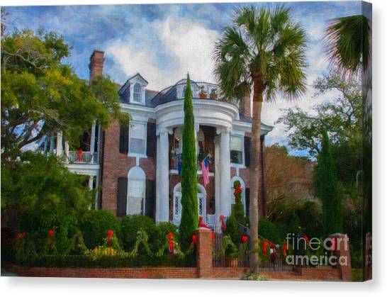 All Decorated Up For Christmas Canvas Print