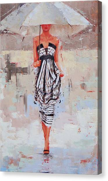 All Dressed Up Canvas Print