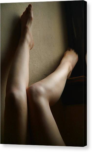 All Legs Canvas Print