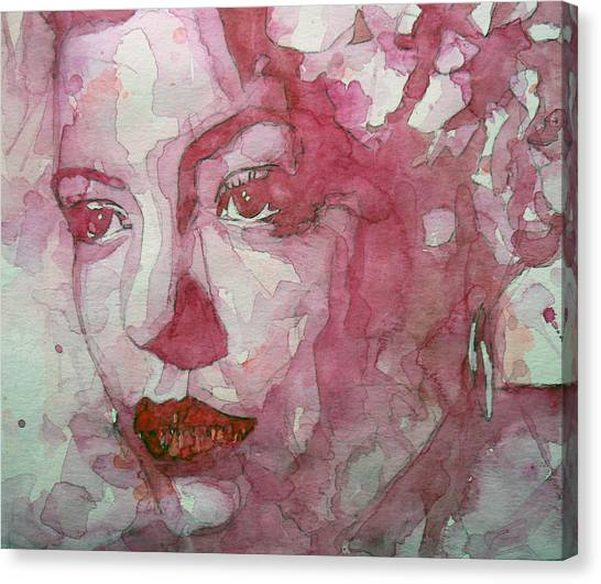 Singers Canvas Print - All Of Me by Paul Lovering
