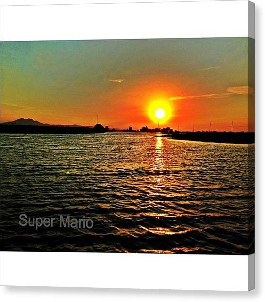 Canvas Print - All Our Dreams Can Come True, If We by Super Mario