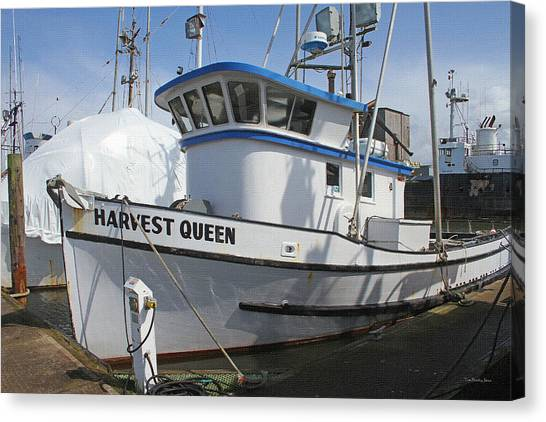 All Painted And Ready To Fish Canvas Print