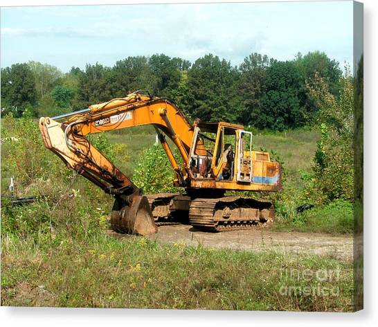 Caterpillers Canvas Print - All Ready For Duty by Kip DeVore