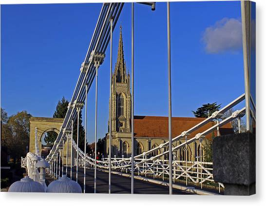All Saints Church Canvas Print